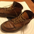 靴の修理…