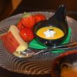 湯野浜温泉みやじまさんの宴会料理