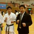 極真中村道場、兵庫の隼、松岡選手のブログに!
