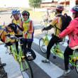 視覚障害者にも本県の魅力を 台湾など30人、自転車観光