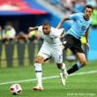 ロシアW杯 QF フランス対ウルグアイ