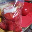 完熟トマトは、冷凍保存する。