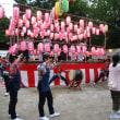 地域のお祭りに中学生が大活躍