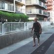 ジャッキー中年と夏の休日(神戸深江編②) managed to arrive at an inn and left for public bath
