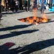 どんど焼きの前日準備/相武台神社のどんど焼きに参加!1月13日(土)のつぶやき