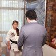 「第29回全日本新空手道選手権大会」及び「第2回真正会オープントーナメント全日本ジュニア空手道選手権大会」に出場された岡部こころさん、岡部神風さんに箕面市長表彰!