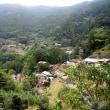 四国の棚田と山岳集落(高知県・仁淀川町「峯岩戸集落」)