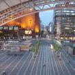 博多駅前の景色