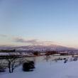 夕映えに立つ磐梯山麓 5首
