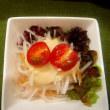 串かつ 粋勝の大根サラダ