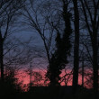 一瞬の夕景