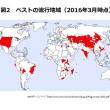 イエメンではコレラ、マダガスカルではペストが流行
