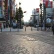 新宿の朝。7時前