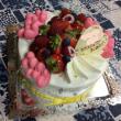 お誕生日用ケーキ