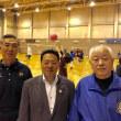 札幌ソフトバレーボール連盟の夏季大会が札幌市内で開催され連盟顧問として挨拶しました。ソフトバレーボールは4人制で今回は33チームが参加。アジア競技大会の開幕とも重なり熱戦が繰り広げられています。