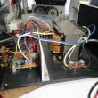 バッテリーの充電器に電源スイッチの取付