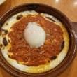 サイゼリヤ (METS OZONE 店) ~ 半熟卵のミラノ風ドリア&たっぷりブロッコリーのクリームスパゲッティ(プーリア風)