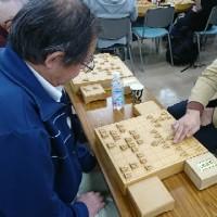 12月17日新宿将棋センターでの指導対局の風景