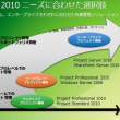 Project 2010、2013、2016機能概要