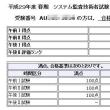 システム監査技術者の学習(合格発表)