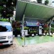 インドネシアで、三菱自が協力し、EV充電施設を2カ所設置。
