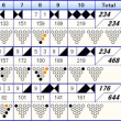 ボウリングのトリオリーグ戦 (121)