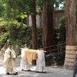 伊勢神宮内宮 月次祭 奏幣の儀 2017.6.17