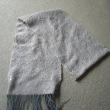 マフラー織りあがりました。