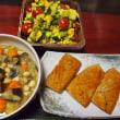 かぼちゃと豆腐マッシュあえサラダ