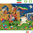【Googleのロゴ】ワールドカップ 2018 Day-7