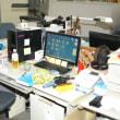 仕事場のデスク