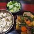 きのこたっぷり・豆腐のきのこあんかけ