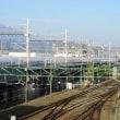 エスパルスドリームプラザ観覧車から見えた富士山 (オマケは700系新幹線)