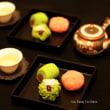 朝宮茶と松竹梅