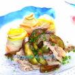 ほっぷ アケミーナの楽しい食卓47 肉ナスそうめん/ひやむぎ 【野菜とワインのソムリエ アケミーナ 山口県】