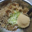 蕎麦焼き味噌