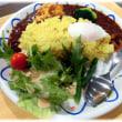 この冬お目見えの…(^^♪梅花女子大学食文化学科と茨木市、いばらき茶屋がコラボしたver. の「安威川ダムカレー」