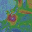 台風は予想通り衰え始め東に振った!最悪の直撃は回避!