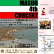 MASUO 4th CONCERT♪