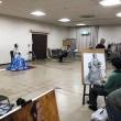 三田川絵画研究会に参加/みまひな 18歳高校生コンビが初V