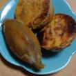 安納芋の焼き芋で