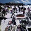 2月11日ハンターマウンテンスキー場 混雑