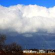 冬の入道雲