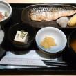 サバの塩焼き・刺身定食が750円