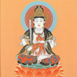 虚空蔵菩薩 (こくうぞうぼさつ)、梵名アーカーシャガルバ