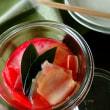 Miki (^_−)−☆さんの 赤かぶと大根のジンジャーハニーピクルス  塩漬けなしで簡単に   温活〜