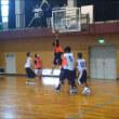 岡山県選抜との練習試合