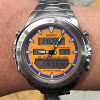 今日の腕時計 11/27 SEIKO SPORTS 200 MACCHINA SPORTIVA H021-8011
