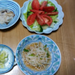今日の朝食(8月18日)2日連続紅サケ