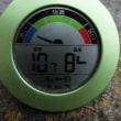平成29年10月16日・今朝の東祖谷10.7℃